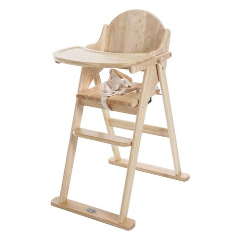 chaise haute multiposition east coast all wood folding highchair kiddies