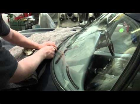 series    type jag windscreen fitting youtube