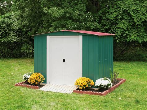 arrow metal sheds arrow apex metal garden shed 8 x 6ft
