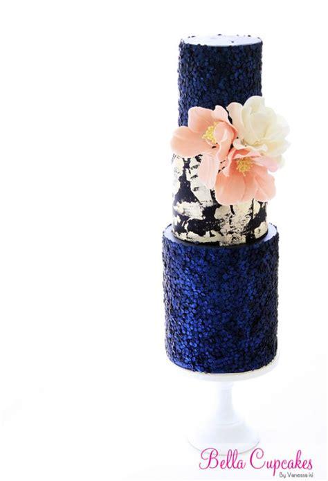 fab glittery  sparkling wedding cake ideas