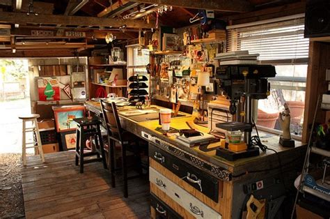 man cave workshop