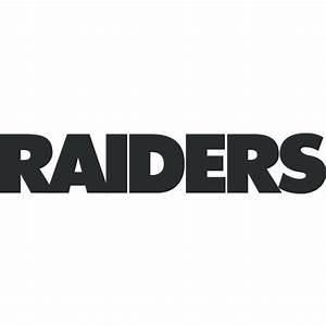 oakland raiders logo decal sticker cad100 With raiders letters