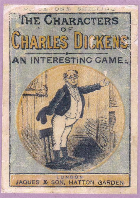 characters  charles dickens  world  playing cards
