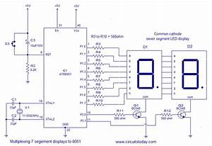 Electroidware  Interfacing Seven Segment Display To 8051