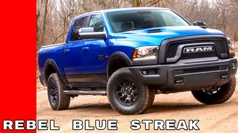 2017 Dodge Ram Rebel Blue Streak