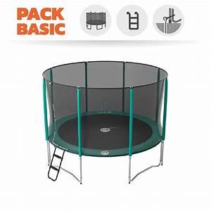 Prix D Un Trampoline : pack basic trampoline jump up 360 avec filet chelle ~ Dailycaller-alerts.com Idées de Décoration