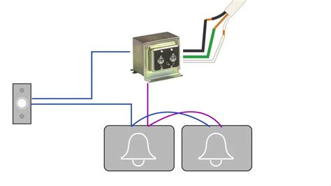 Diagram For Wiring Two Doorbell by How To Install A Second Doorbell Chime Wiring Diagram