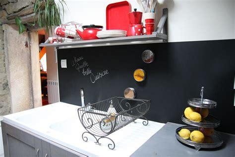 ma cuisine un tableau noir dans ma cuisine