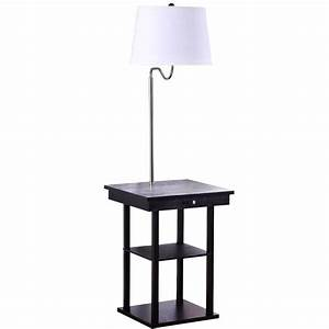 better homes and gardens rack end table floor lamp With better homes and gardens floor lamp with table