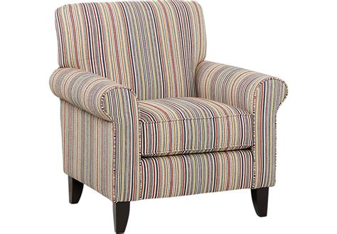 surfside striped accent chair accent chairs blue