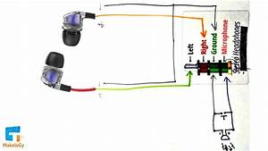 Wiring Diagram For Headphone