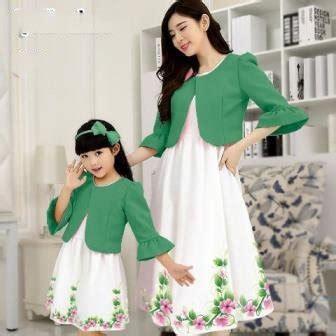jual mom  kids dress baju couple ibu  anak dress