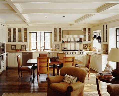 Living Room Combined Kitchen  Home Design And Decor Reviews