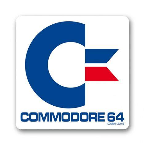 Commodore 64 Logo Coaster  Arcade Classics Kitschagogo