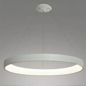 Luminaire Design Led : suspension led design en forme d 39 anneau diam tre 900 mm dimmable ~ Teatrodelosmanantiales.com Idées de Décoration