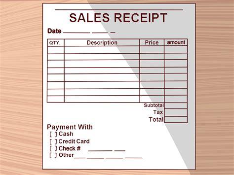 Business Receipts Templates