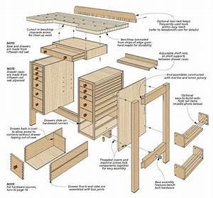 Hobby Bench Woodsmith Plans
