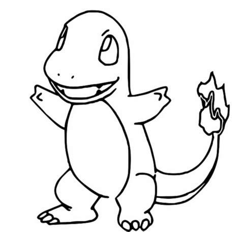 kolorowanki pokemon charmander rysunki pokemon