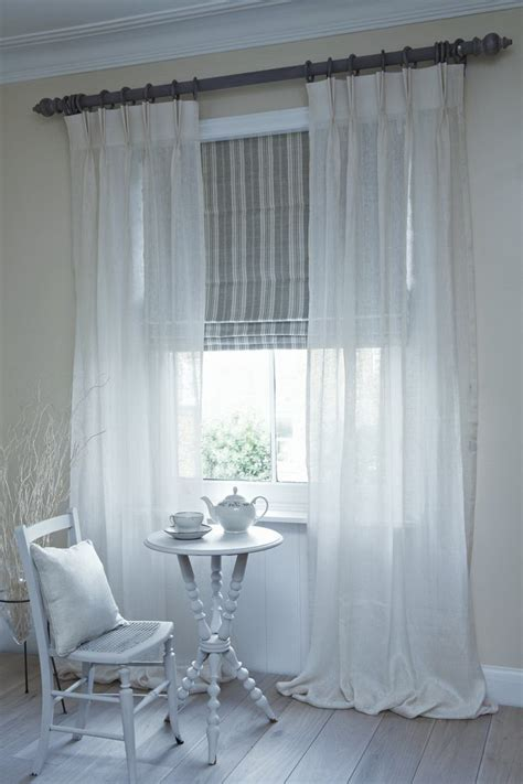 shabby chic blinds stylish curtains with blind for your bedroom decor abpho
