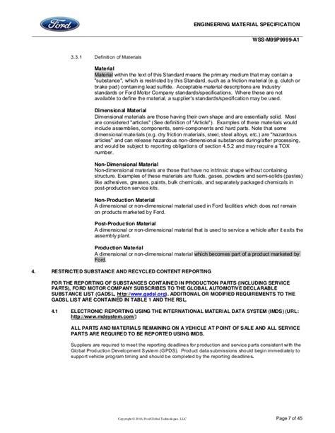 2016 Restricted Substance Management Standard_04/01/2016