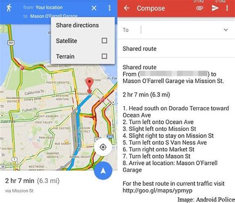 maps app for android maps app updated with direction and more