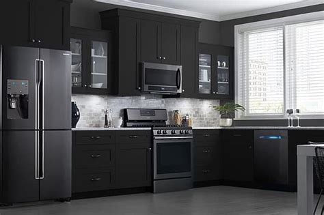 black kitchen cabinets with stainless steel appliances kitchen design trends 2016 what s the new stainless steel 9767