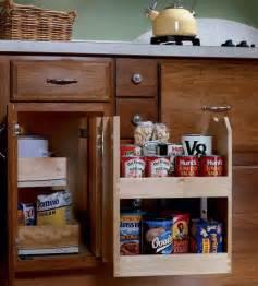 blind cabinet storage kitchen