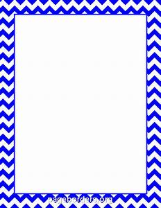 Blue Chevron Border: Clip Art, Page Border, and Vector ...