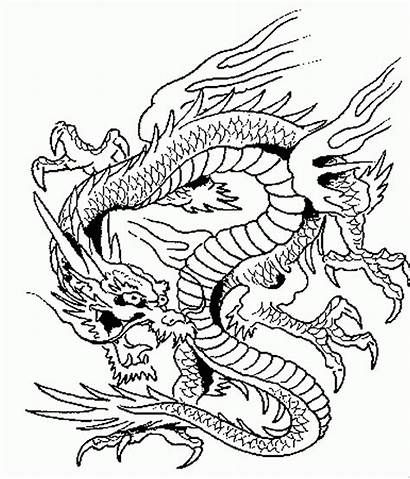 Coloring Pages Printable Dragons Adults Advanced Dragon