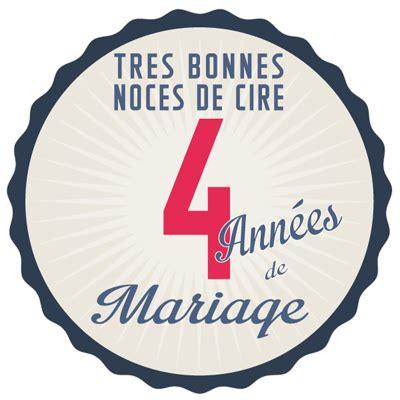 4 ans de mariage c est noce de quoi 4 ans de mariage noces de cire symbole id 233 es cadeaux