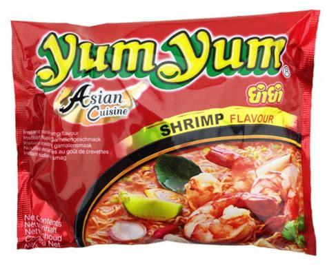 yum yum nudeln yum yum instatnt nudelsuppe shrimp garnelen 60gr beutel