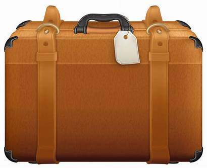 Suitcase Clipart Brown Suitcases Open Clip Travel