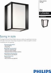 Philips 17183  93  16 171839316 Wall Light User Manual