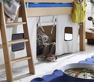 Vorhang Set Hochbett : hochbett aus buche biologisch ge lt kids fantasy ~ Eleganceandgraceweddings.com Haus und Dekorationen