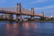 Queensboro (59th Street) Bridge at twilight Queens New ...
