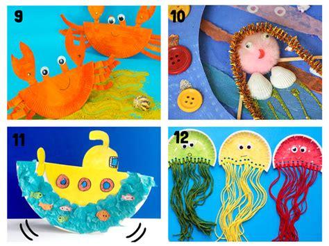 53 Paper Plate Ocean Animals, Ocean Animal Paper Plate