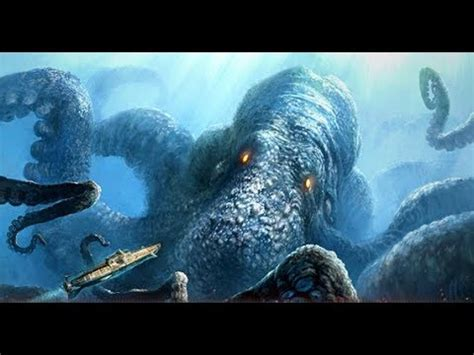 el kraken viene ala tierra youtube