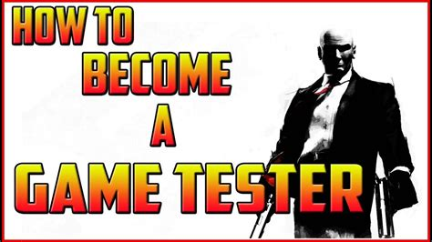 How To Become A Game Tester  Video Game Tester Jobs Youtube