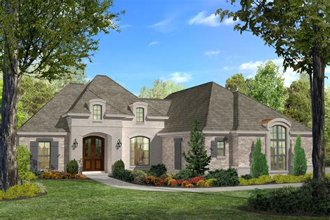 Acadian House Plan #142-1124