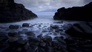 Download, Free, Hd, Dark, Sea, Rocks, Desktop, Wallpaper, In, 4k, 0135