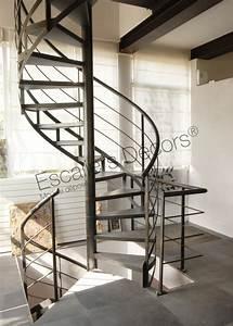 Escalier Colimaçon Beton : escalier h lico dal escaliers d cors ~ Melissatoandfro.com Idées de Décoration