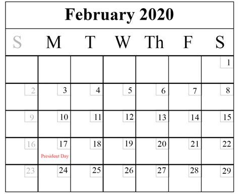 february printable calendar templates word excel