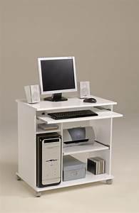 Bureau Pour Ordinateur Fixe : meuble pour ordinateur fixe equipement bureau lepolyglotte ~ Teatrodelosmanantiales.com Idées de Décoration