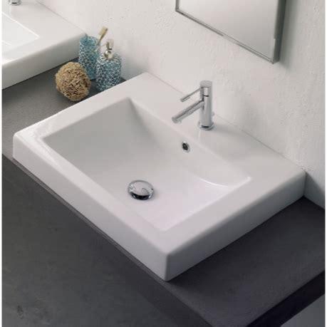 square drop in bathroom sink scarabeo 8025 a bathroom sink square nameek 39 s