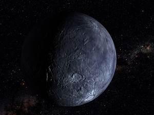 Hubble Spots an Icy World Far Beyond Pluto (artist's ...