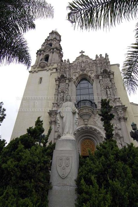 The Pious St Vincent De Paul Catholic Church In Los Angeles