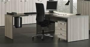 Bureau D Angle Professionnel : grand bureau d angle professionnel meuble entreprise lepolyglotte ~ Teatrodelosmanantiales.com Idées de Décoration