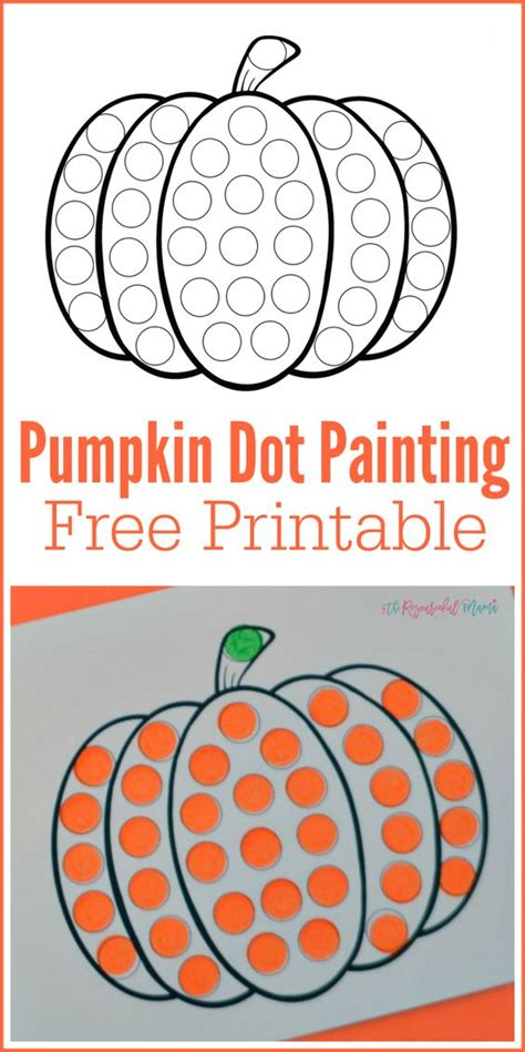 pumpkin do a dot worksheet pumpkins toddlers and signs 759 | 7066fbcfd524de38b148f48903157af5