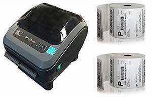 zebra zp 450 ctp direct thermal printer 1000 4x6 labels With 4x6 label printer