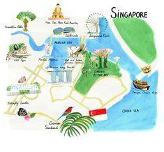 singapore printable tourist map singapore attractions